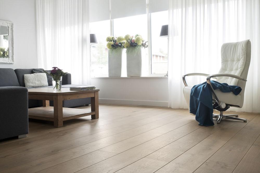 Houten vloer in een appartement knulst houten vloeren